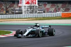 F1 Winter Test 2018